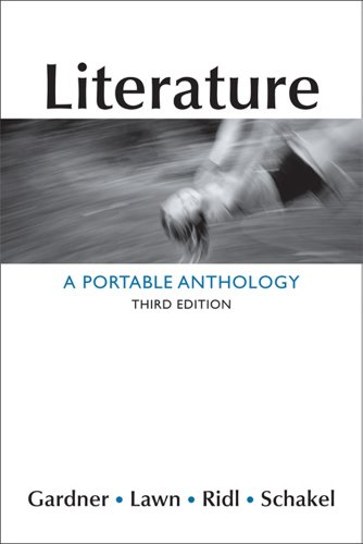 Literature A Portable Anthology 3rd 2013 edition cover