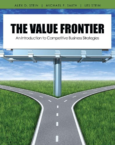 Value Frontier An Introduction to Competitive Business Strategies Revised edition cover