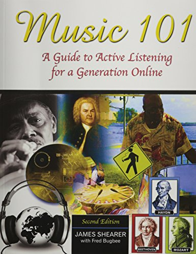 Music 101 A Guide to Active Listening for a Generation Online 2nd (Revised) edition cover