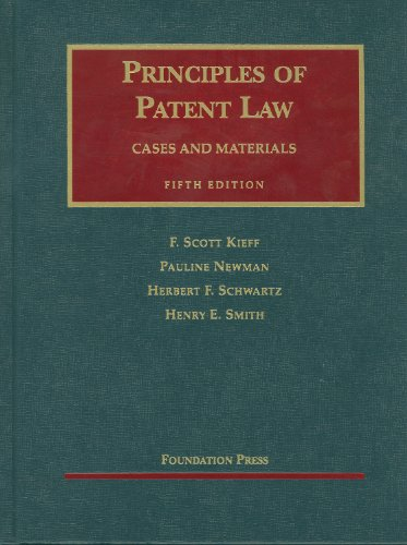Principles of Patent Law  5th 2011 (Revised) edition cover