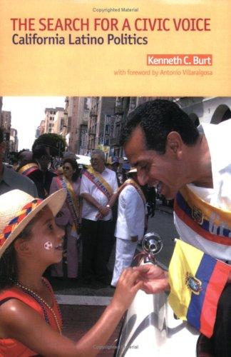 Search for a Civic Voice : California Latino Politics N/A edition cover