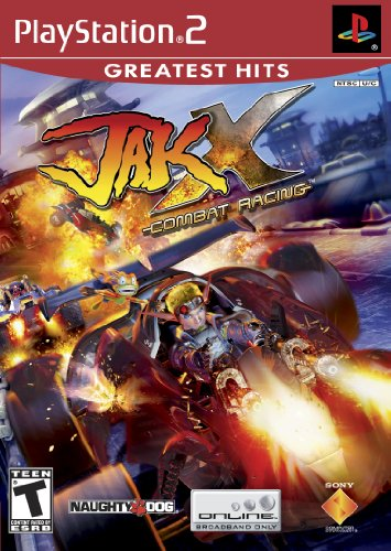 Jak X Combat Racing - PlayStation 2 PlayStation artwork