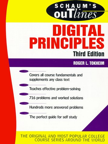 Schaum's Outline of Digital Principles  3rd 1994 (Revised) edition cover