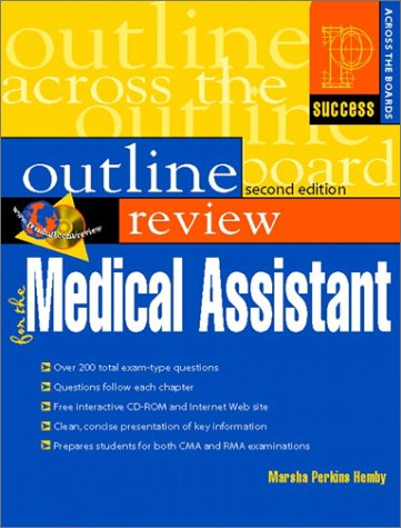 Prentice Hall Health Outline Review for the Medical Assistant  2nd 2001 (Revised) edition cover