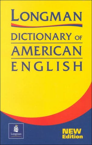 Paper with Two-Color Version, Longman Dictionary of American English 1st 2000 edition cover