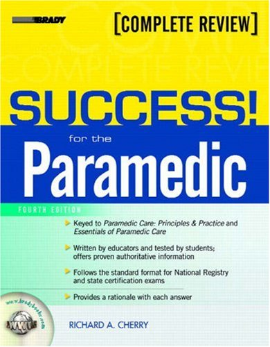 SUCCESS! for the Paramedic  4th 2008 edition cover