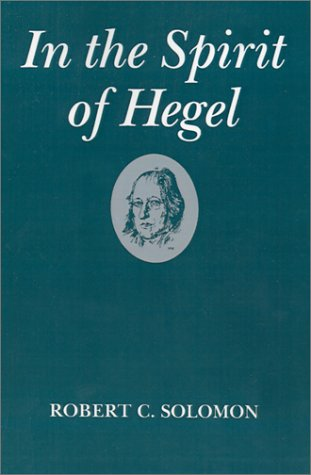 In the Spirit of Hegel   1983 edition cover