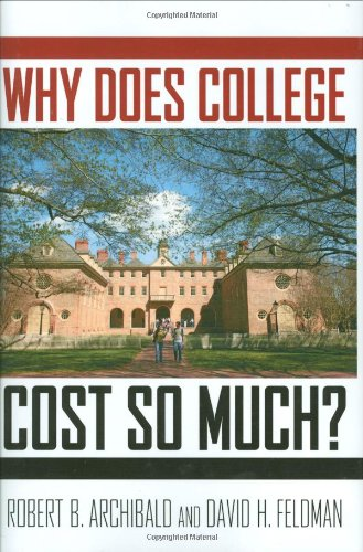 Why Does College Cost So Much?   2011 edition cover