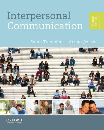 Interpersonal Communication  7th 2013 9780199827503 Front Cover