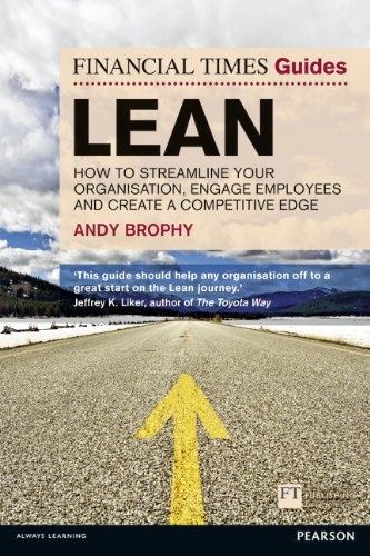 Lean How to Streamline Your Organisation, Engage Employees and Create a Competitive Edge  2012 9780273770503 Front Cover