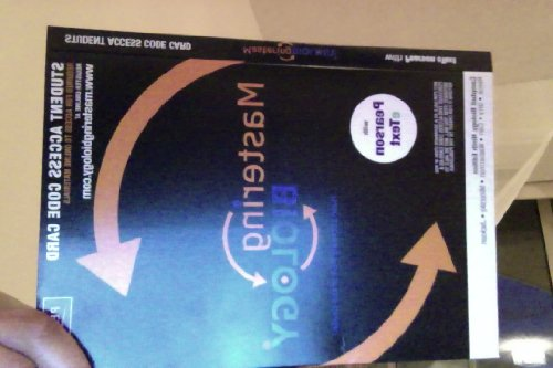 Masteringbiology� with Pearson Etext -- Valuepack Access Card -- For Campbell Biology  9th 2011 edition cover