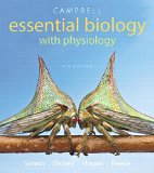 Campbell Essential Biology With Physiology + Masteringbiology With Etext:   2015 edition cover