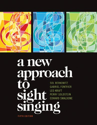 New Approach to Sight Singing  5th 2011 edition cover