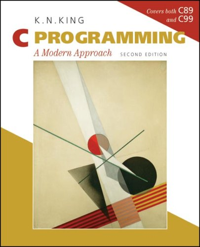 C Programming A Modern Approach 2nd 2008 9780393979503 Front Cover