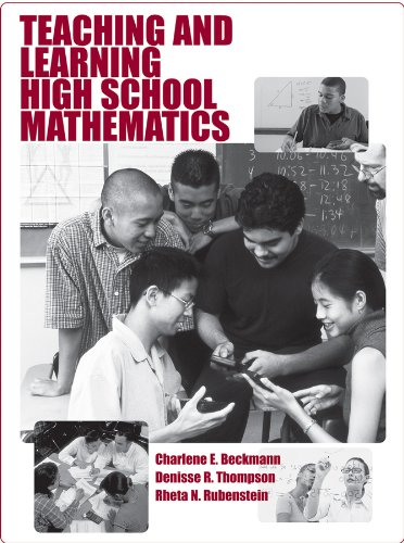 Teaching and Learning High School Mathematics   2010 edition cover