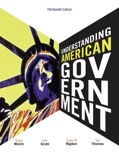 Understanding American Government  13th 2012 edition cover