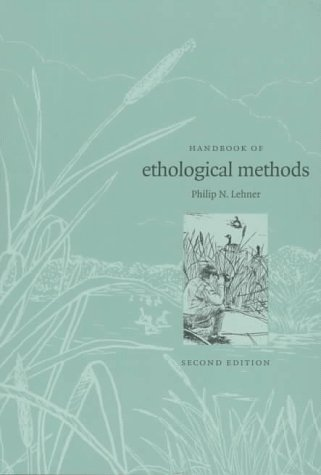 Handbook of Ethological Methods  2nd 1998 (Revised) edition cover