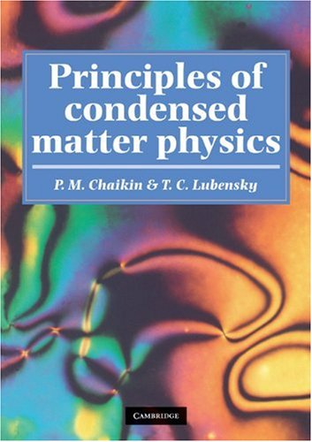 Principles of Condensed Matter Physics   2000 edition cover