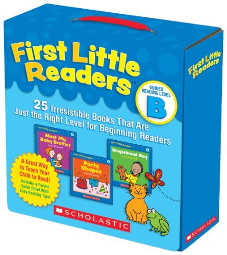 First Little Readers Parent Pack: Guided Reading Level B 25 Irresistible Books That Are Just the Right Level for Beginning Readers N/A 9780545231503 Front Cover