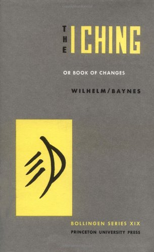 I Ching Or Book of Changes 3rd 1967 edition cover