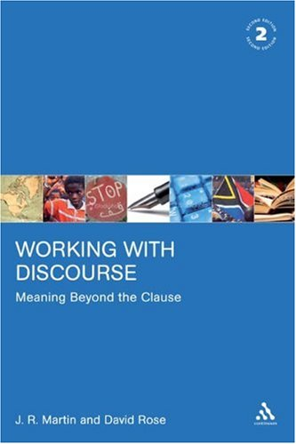 Working with Discourse Meaning Beyond the Clause 2nd 2007 (Revised) edition cover