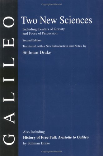 Two New Sciences/A History of Free Fall   2000 edition cover