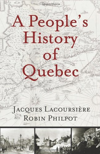People's History of Quebec   2009 edition cover