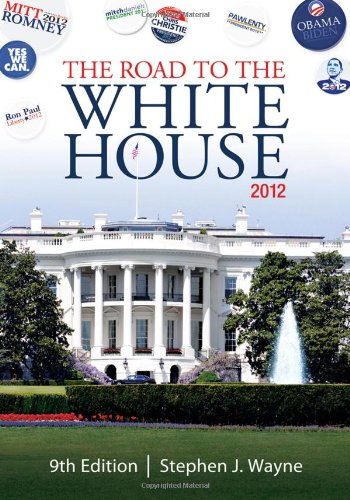 Road to the White House 2012  9th 2012 edition cover