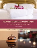 Human Resources Management in the Hospitality Industry  2nd 2016 edition cover