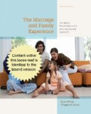 Marriage and Family Experience Intimate Relationships in a Changing Society 12th 2014 edition cover