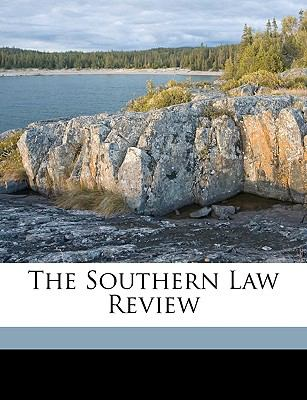 Southern Law Review  N/A edition cover