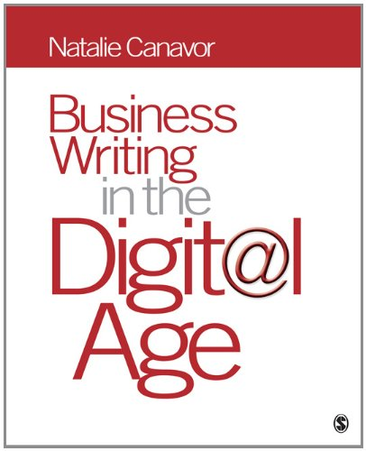 Business Writing in the Digital Age   2012 (Student Manual, Study Guide, etc.) edition cover