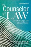 Counselor and the Law A Guide to Legal and Ethical Practice  2015 edition cover