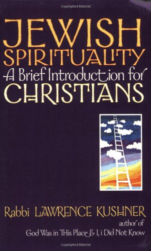 Jewish Spirituality A Brief Introduction for Christians  2001 edition cover