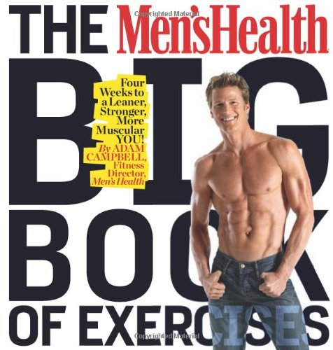 Men's Health Big Book of Exercises Four Weeks to a Leaner, Stronger, More Muscular You!  2010 edition cover