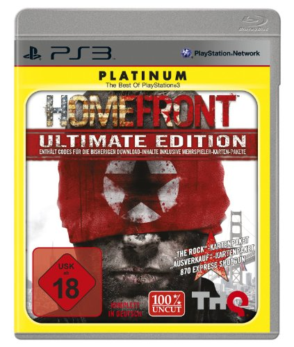 Homefront - Ultimate Edition PlayStation 3 artwork