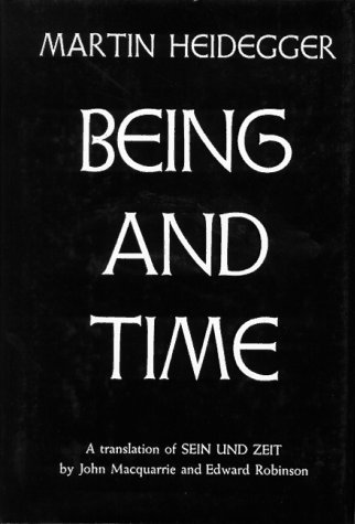 Being and Time  N/A edition cover