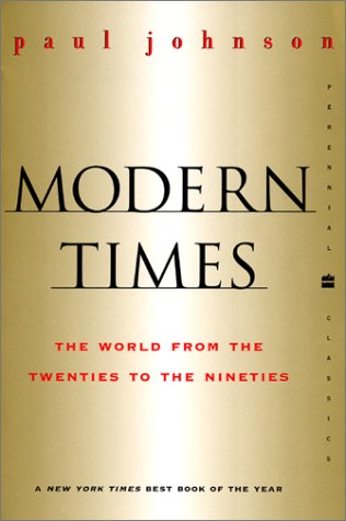 Modern Times The World from the Twenties to the Nineties Revised edition cover