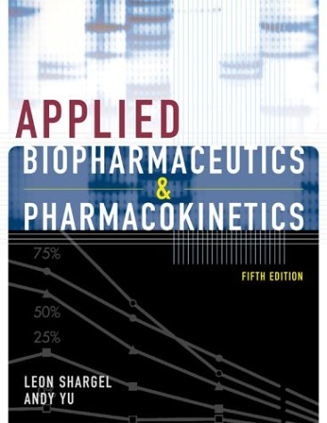 Applied Biopharmaceutics and Pharmacokinetics  5th 2005 (Revised) edition cover