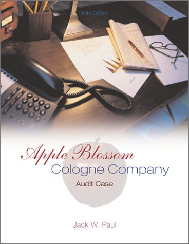 Apple Blossom Cologne Company  5th 2003 (Revised) edition cover