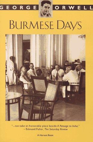 Burmese Days   1974 (Reprint) edition cover
