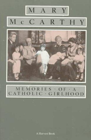 Memories of a Catholic Girlhood  Reprint edition cover
