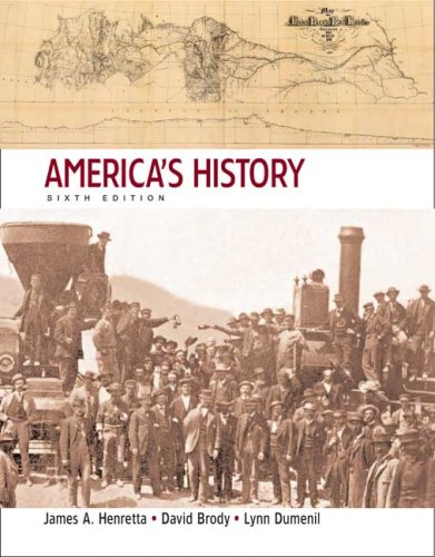 America's History Since 1865 6th 2008 edition cover