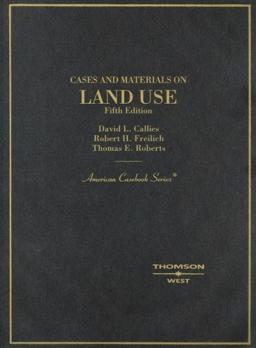 Land Use  5th (Revised) edition cover