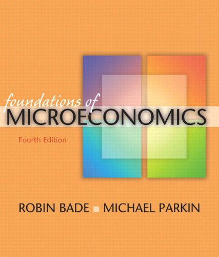 Foundations of Microeconomics  4th 2009 edition cover