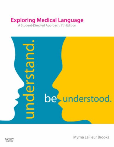 Exploring Medical Language A Student-Directed Approach 7th 2008 edition cover