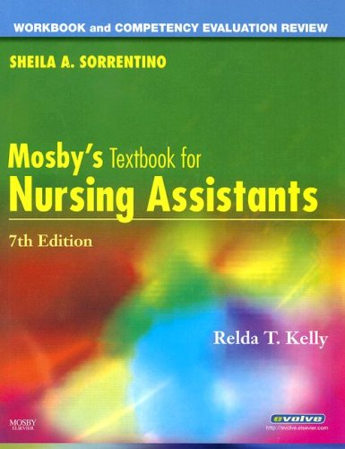 Workbook and Competency Evaluation Review for Mosby's Textbook for Nursing Assistants  7th 2008 edition cover