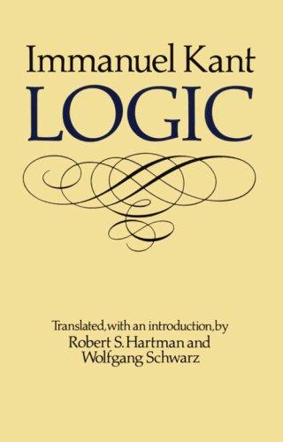 Logic   1988 (Reprint) edition cover
