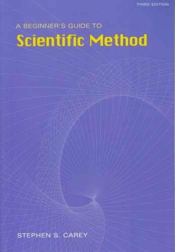 Beginner's Guide to Scientific Method  3rd 2004 (Revised) 9780534584504 Front Cover
