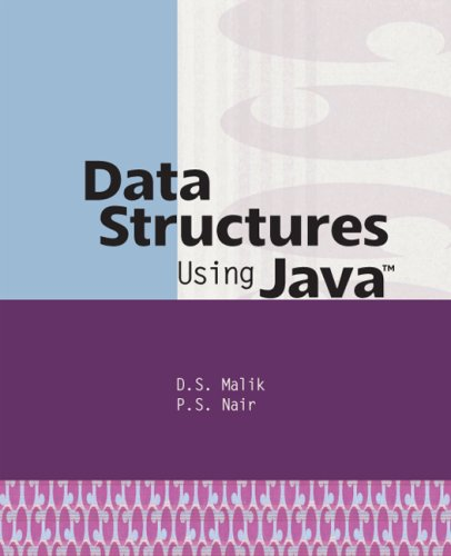 Data Structures Using Java   2003 edition cover